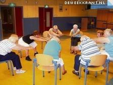 Zittend op een stoel tóch gymmen!